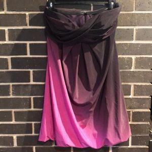 XSCAPE Ombré Homecoming Dress